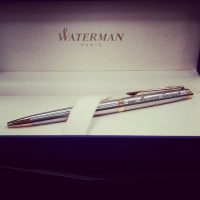 hemijska olovka sa posvetom