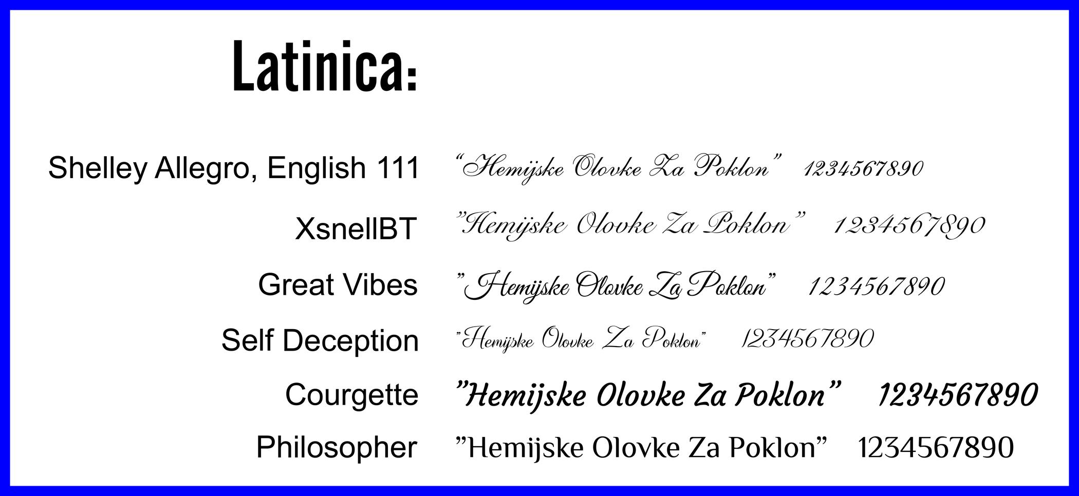 Pisana-latinica